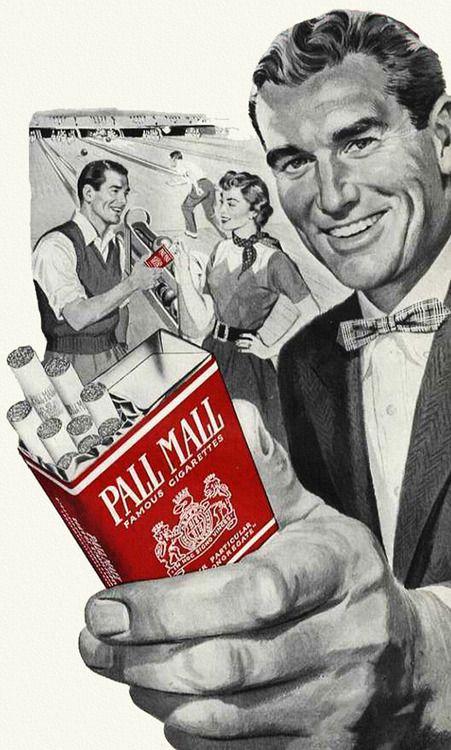 De las que ya no se ven por ahí. | Cigarrillos Pall Mall, 1953.