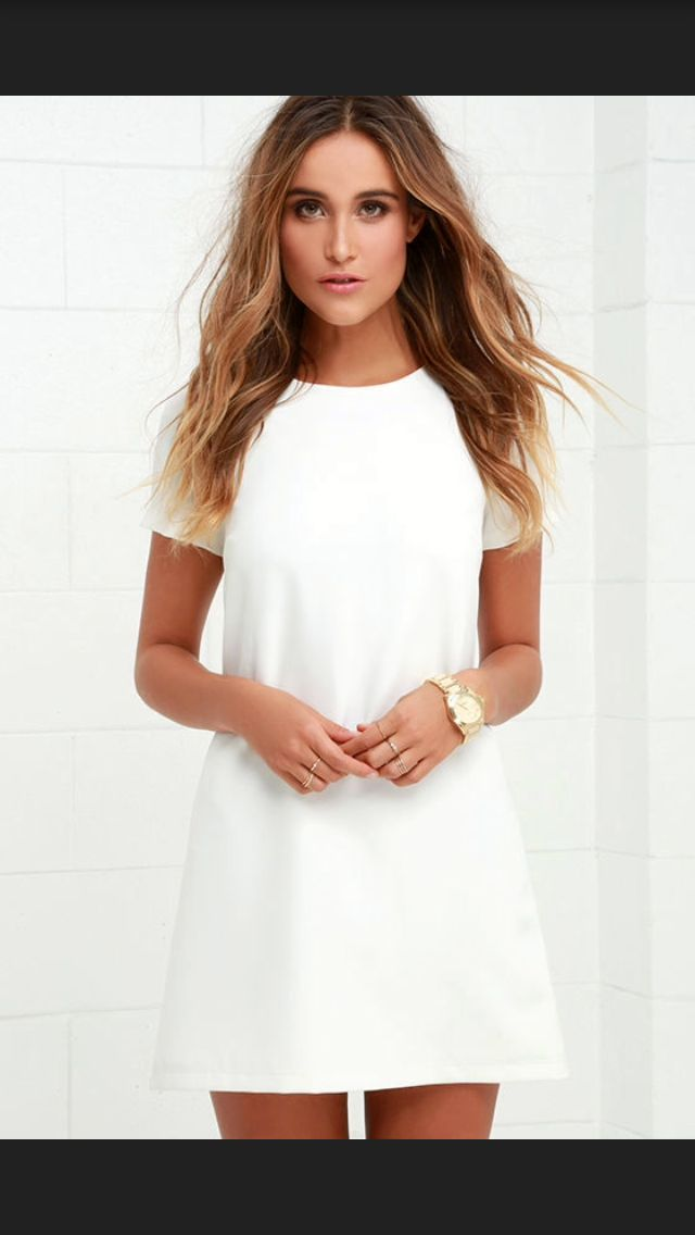 STITCH FIX TRENDS! Try the best clothing subscription box ever! Resort wear, White shift dress, fashion and outfit Inspiration photos for stitch fix. Only $20! Sign up now! #StitchFix #Sponsored