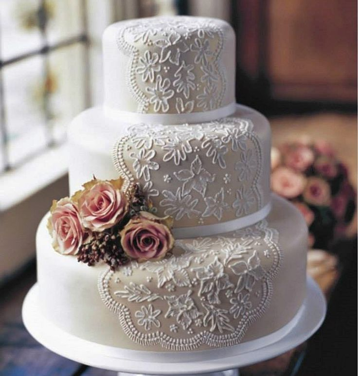 15 best wedding cakes by cyprus dream weddings images on pinterest beautiful detailed three tier wedding cake by cyprus dream wdddings junglespirit Images