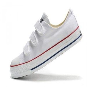 converse online outlet y0a6  Cheap buy Classic converse all star womens shoes velcro white low top  canvas outlet store