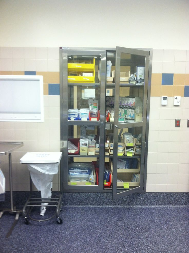 CMP Stainless Steel Pass Through Cabinet Hospital Installation Continentalmetal