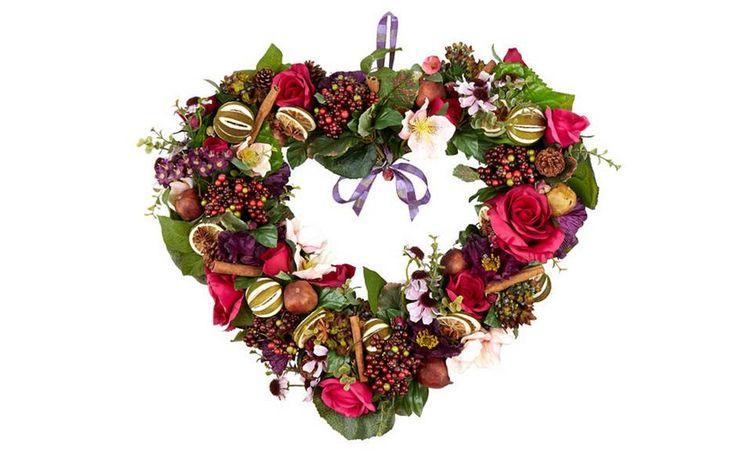 Pollyfields Large Blenheim Heart wreath, £99.95, Harrods