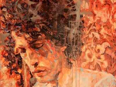"""""""Eric de Lardillière"""", 100x130cm, Acrylique sur toile, Paris 2013"""