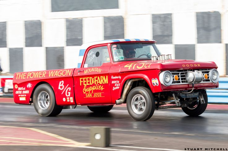 Gasser Circus: Check Out England's Coolest Gassers In Action At Shakespeare County Raceway!