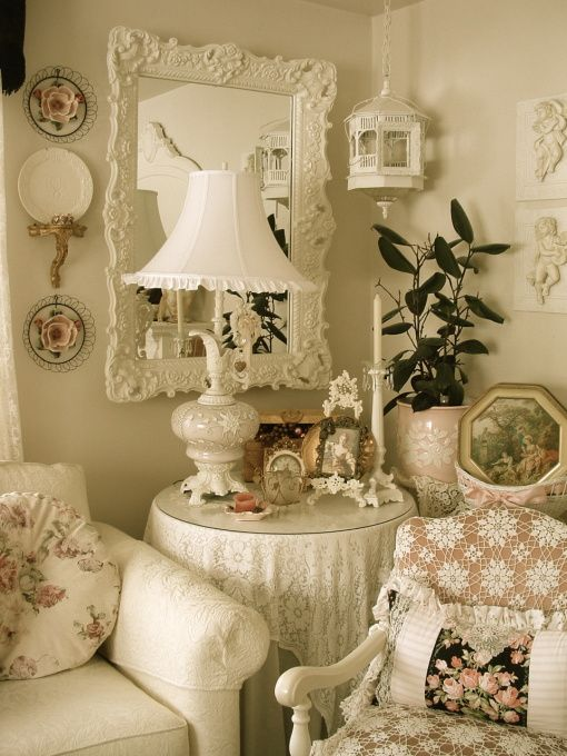 Shabby Chic Wall Decor For Living Room : Best images about my shabby living room ideas on