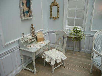 """Les Carnets de l'Atelier Blondie: Stage """"Le Salon Gustavien"""" - Workshop """"The Gustavian Reception Room"""""""