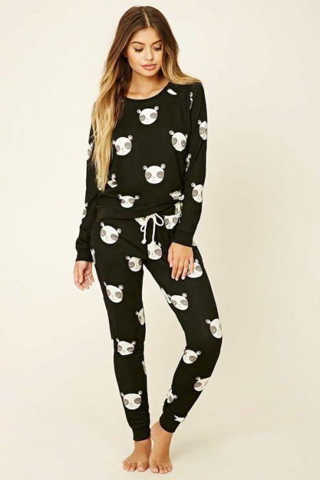 582af16e7d Pijamas de Moda para estar Cómoda y lucir con Estilo (2019 ...