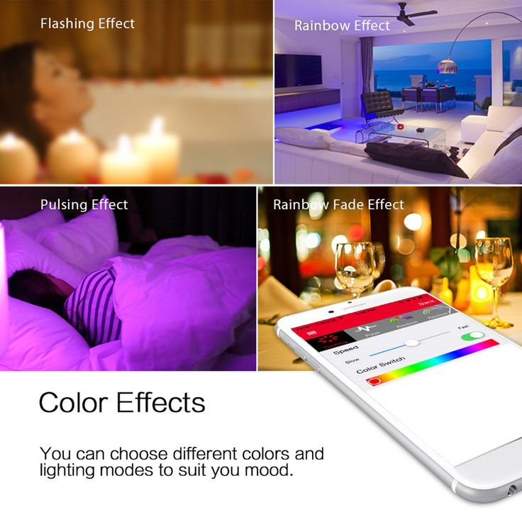 Change your #ambience according to your #mood using your #smartphone with #SmartLED bulbs available at #Ooberpad. https://www.ooberpad.com/collections/led-smart-bulb