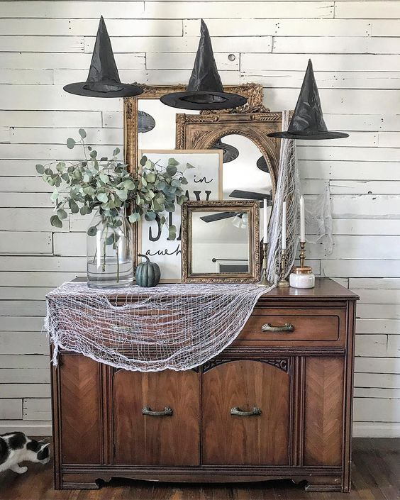 73 Gorgeous Halloween Living Room Decor Ideas (1