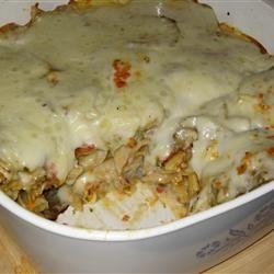 Eggplant Pasta Bake Allrecipes.com | meatless casseroles | Pinterest