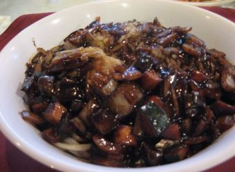Jajangmyeon is one of the most popular dishes in Korea, and is widely considered based off a Chinese dish called Zha jiang mian. I found that the Korean version of this dish was invented by some Chinese restaurants in Incheon more than 100 years ago.