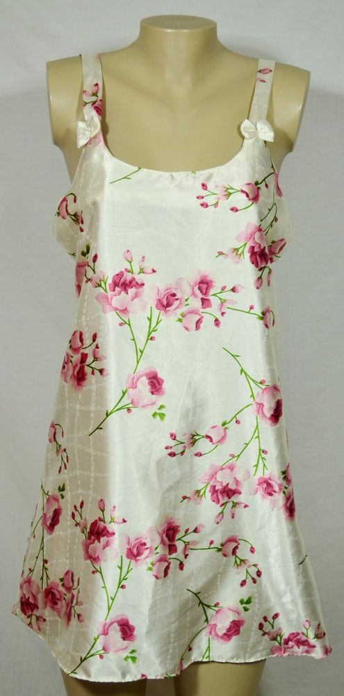 S L Fashions Green Dress Floral Sleeveless White Pink