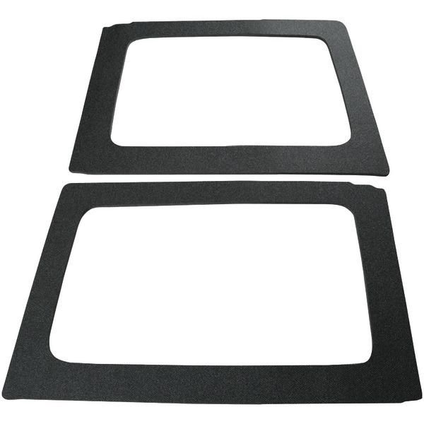 BOOMMAT 050149 Rear Side Windows Sound-Deadening for 2011 & Up Jeep(R) Wrangler Hard Tops (4 Door)