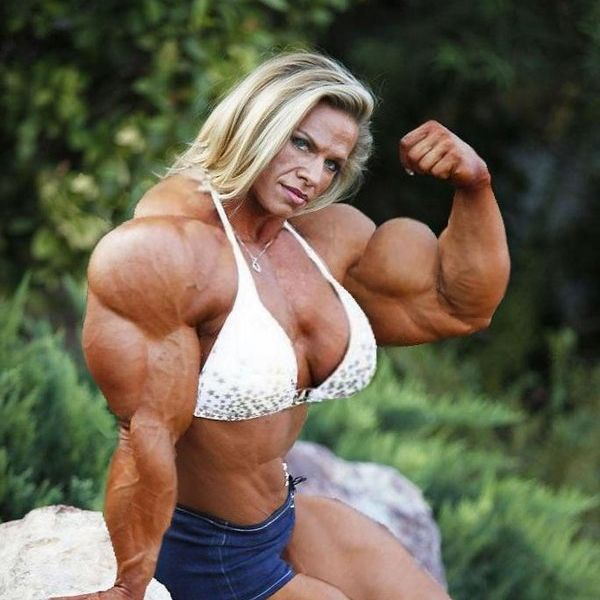 Bodybuilder Girl Muscle 2016 hypertrophy 2015 strong