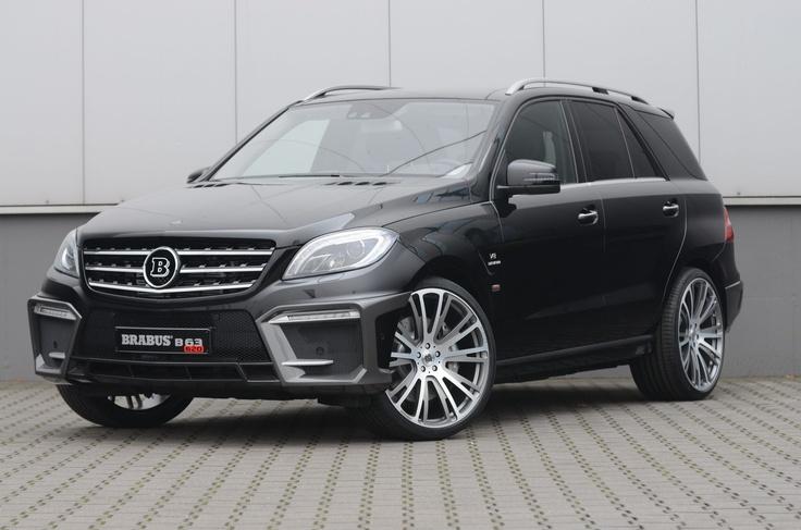 BRABUS veredelt den ML 63 AMG   Mercedes-Benz Passion Blog