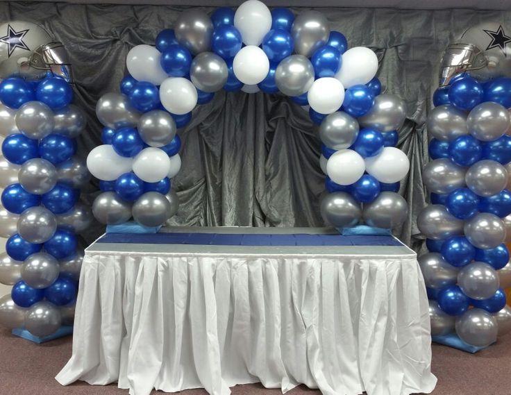Dallas Cowboys Balloon Decor Balloons By Brooklyn