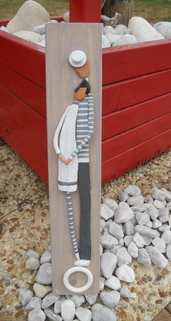 Les amoureux de l'été au bois flotté : Autres art par les-toiles-de-mer-de-syl