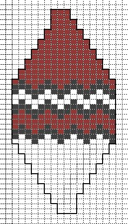 telpatroon 18 fantasie zigzag
