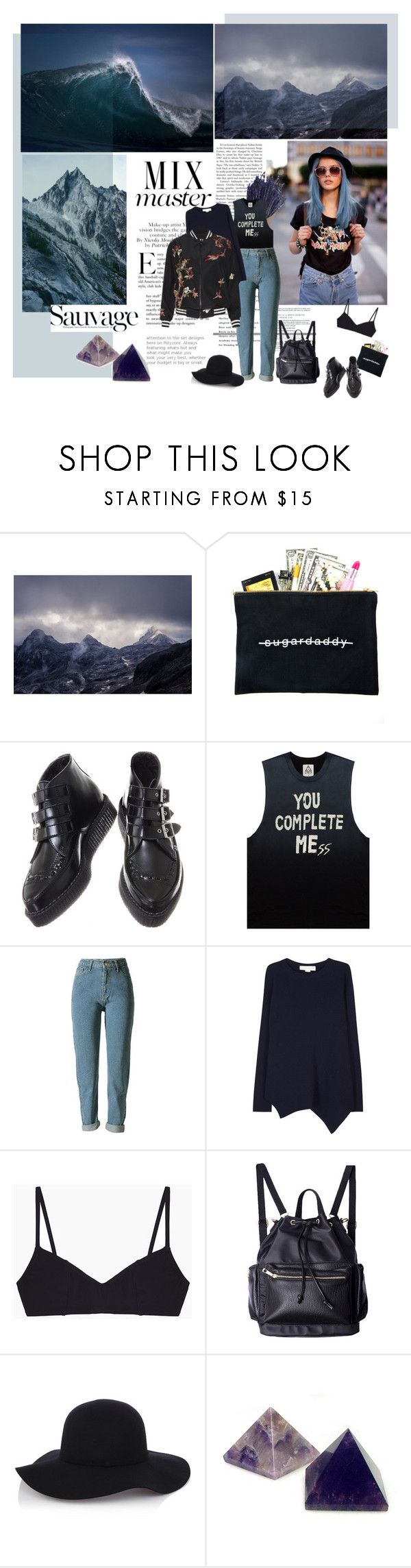 """""""Landscapes"""" by solespejismo on Polyvore featuring Libertine, Dimepiece, STELLA McCARTNEY, Araks, Warehouse, Anja and Alice + Olivia"""
