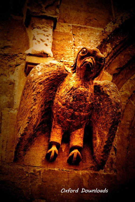 Deddington Church Oxfordshire Gargoyle Statue by OxfordDownloads