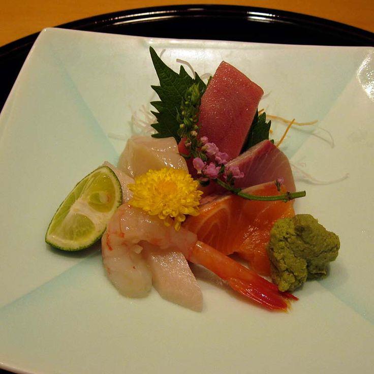 Superb sashimi, the best I've tried. Singapore
