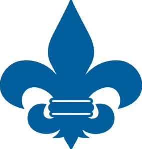 Fleur De Lis- use to make stencil for centerpiece luminaries, paint them gold