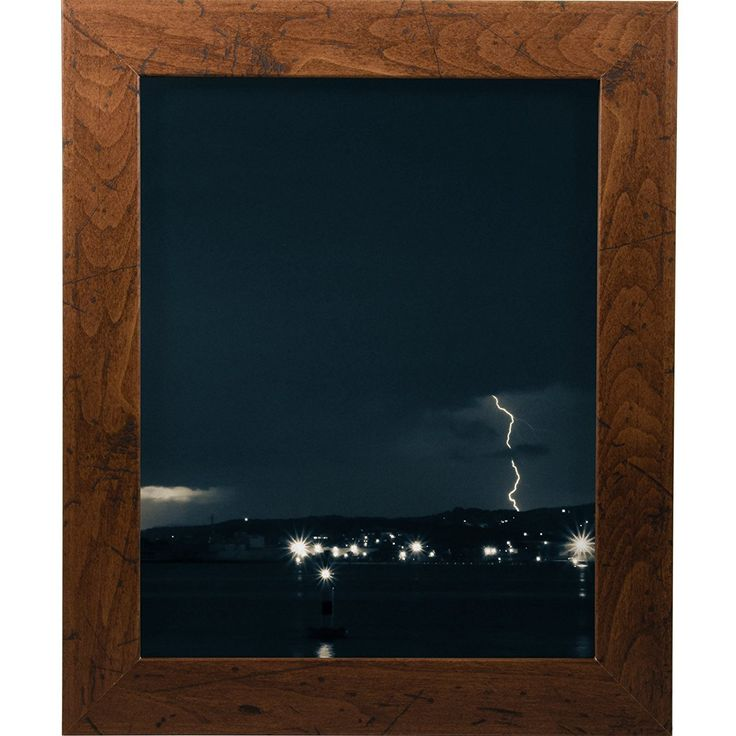 Amazon.com - Craig Frames FM26WA2436C 1.26-Inch Wide Picture/Poster Frame in Smooth Grain Finish, 24 by 36-Inch, Dark Brown - Single Frames