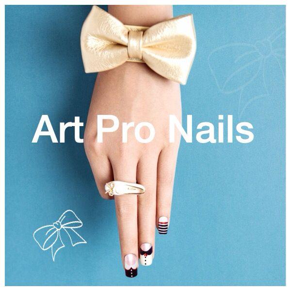 Digital printed nails