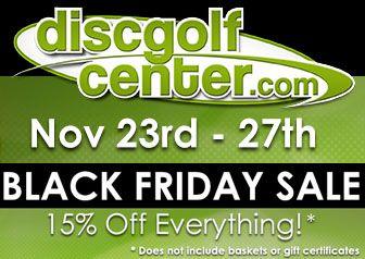 Disc Golf Center Black Friday Sale