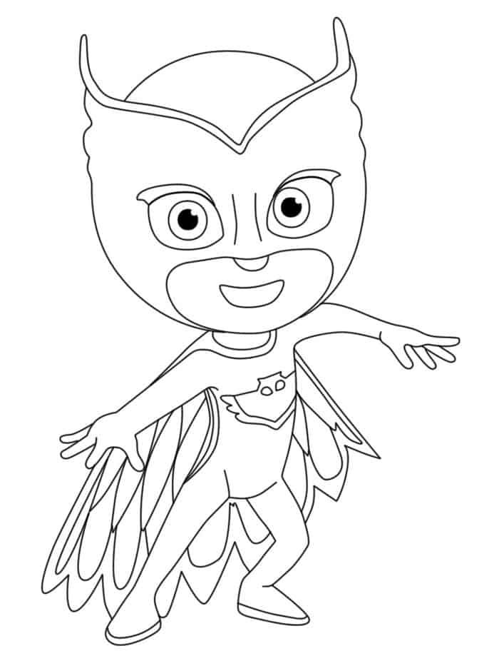 Pj Mask Coloring Pages In 2020 Pj Masks Coloring Pages Coloring