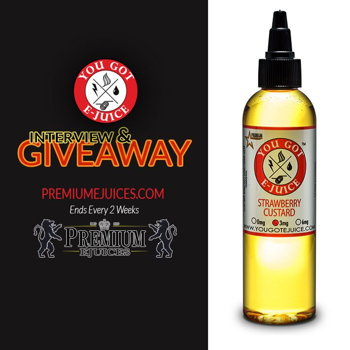 I entered a PremiumeJuices.com #Giveaway for a chance to win Premium #eJuice!  More details @PremiumeJuices or https://premiumejuices.com/esORS