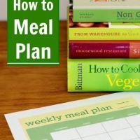 Guest Post:  How to Meal Plan