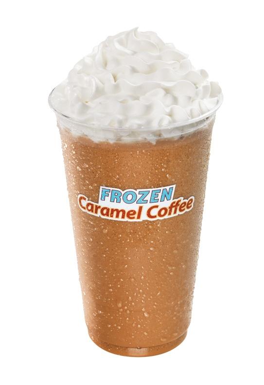 Frozen Caramel Coffee from Dunkin' Donuts