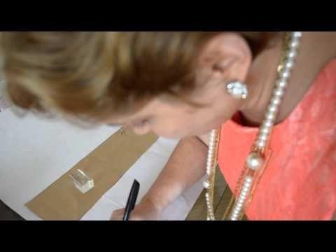 Modelagem de vestido com saia evasê com recortes - Aula 49 - YouTube