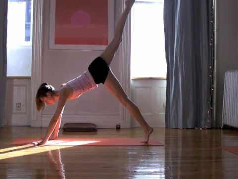 One of my favorite short but intense yoga videos on Youtube. An amazing ab and arm workout!
