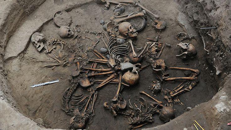 Meksiko'da Aztek Çağı Öncesi Yuvarlak Mezar