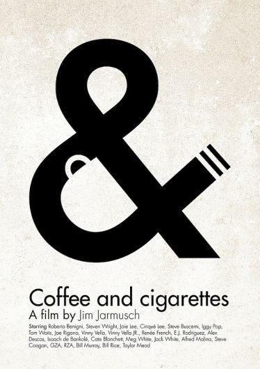 Coffee & Cigarettes. Brilliant.