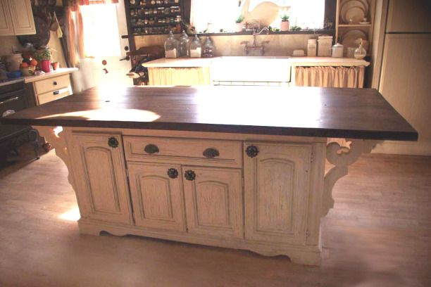 Kitchen Island from old dresser.