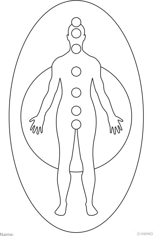 free chakra coloring pages - photo#2