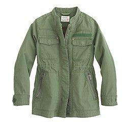 Girls' Lightweight military jacket