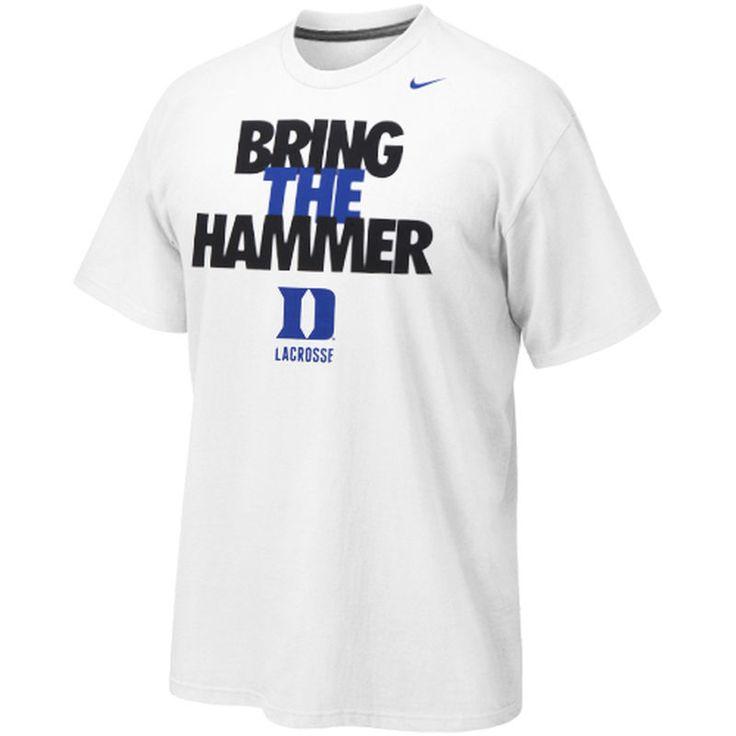 Duke Blue Devils Nike Lacrosse Cotton T-Shirt - White