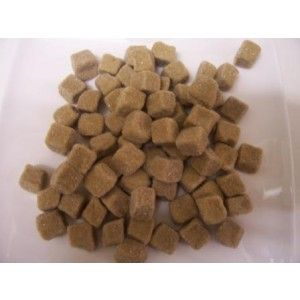 A 1kg bag of soft, chewy, sugar dusted Dutch Licorice cubes.