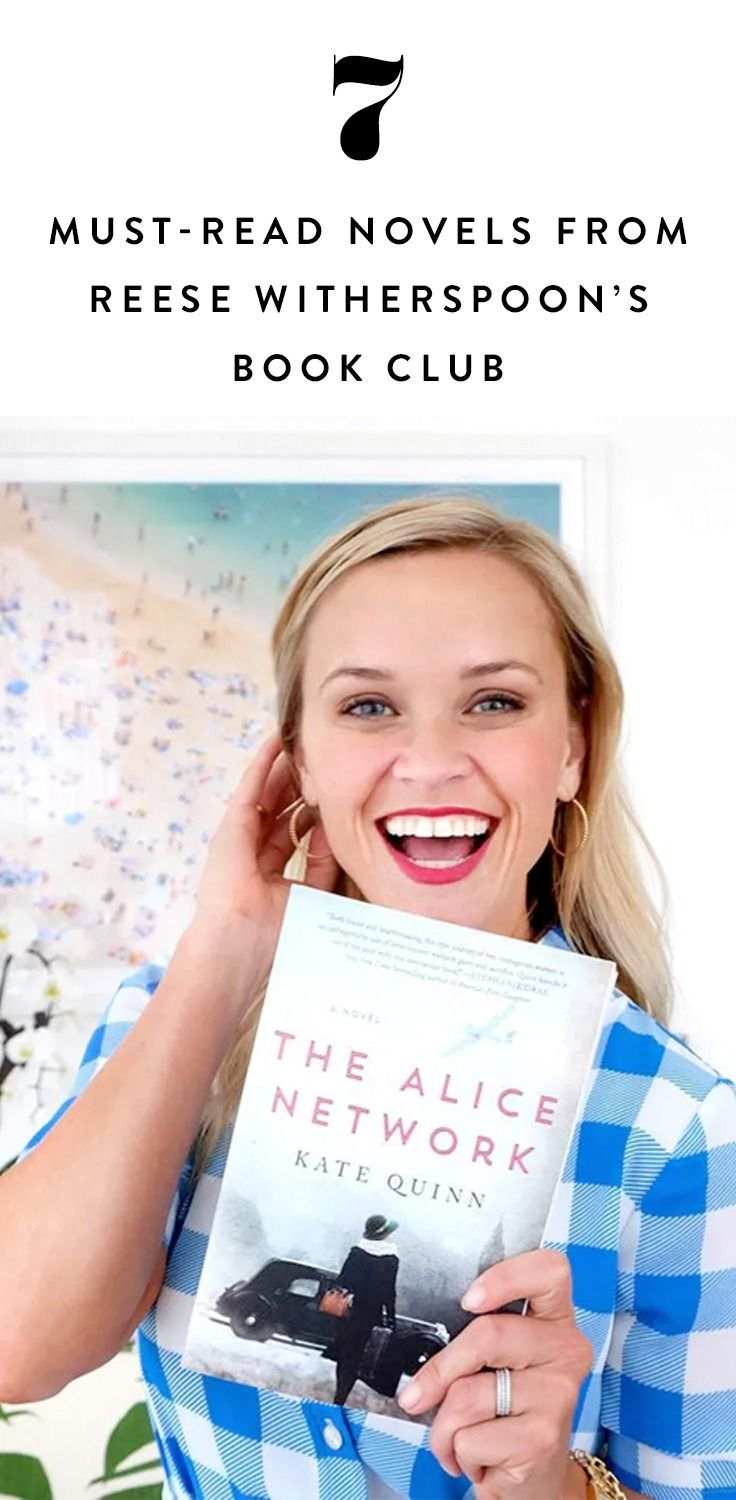 7 Must-Read Novels from Reese Witherspoon's Book ClubPureWow