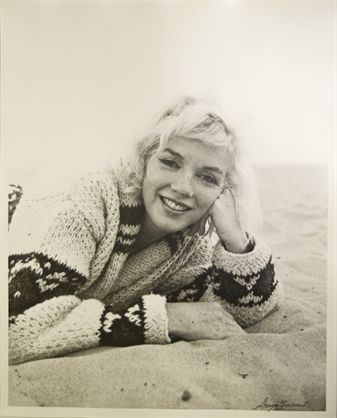 "Marilyn Monroe ""Beach Sweater"" by George Barris 1962"