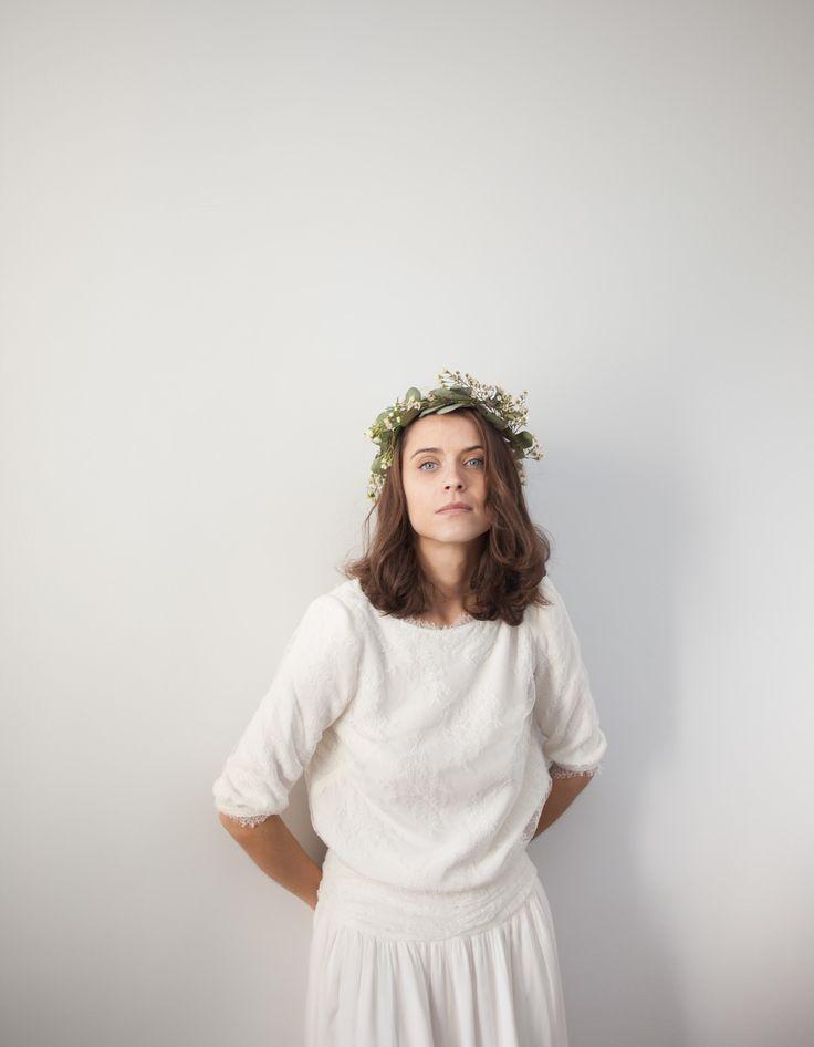 Collections précédentes   Maison Floret #wedding #bride #maisonfloret #white