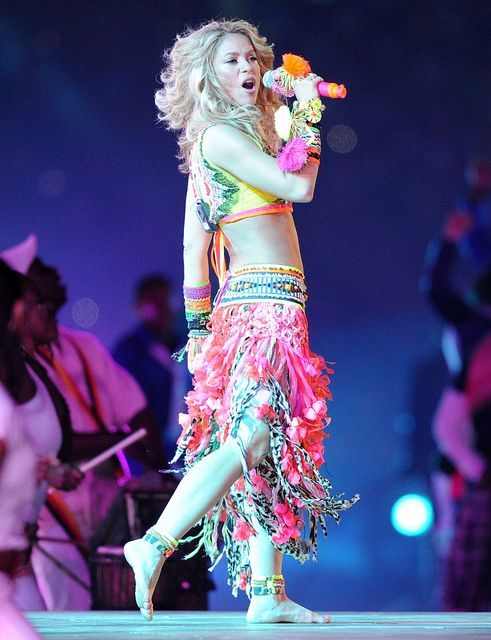 18 best Shakira costume ideas images on Pinterest | Shakira style Artists and Belly dance