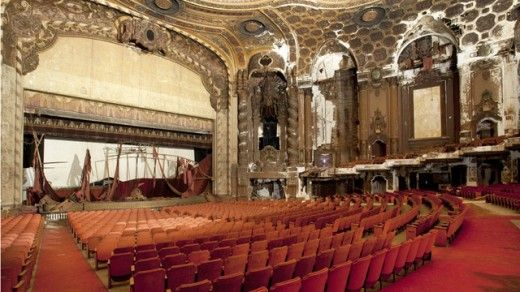 Abandoned New York TheatreMovie Theatres, Movie Theater, Abandoned Movie, Abandoned Theatres, Matte Lambro, New York, Abandoned Architecture, King Theatres, Abandoned Places
