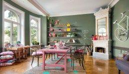 Makalös lägenhet med smart och snygg förvaring