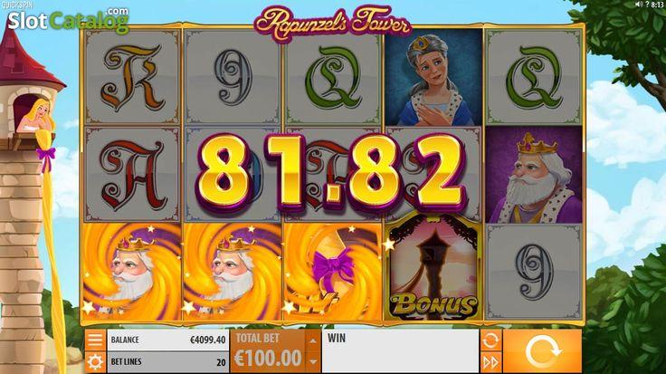 Wild Win screen 2. Rapunzel's Tower (New)(Video SlotfromQuickspin)