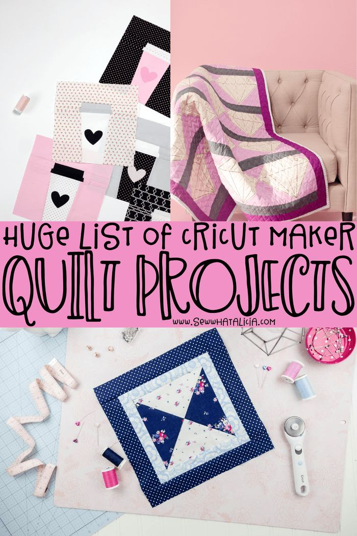 Cricut For Quilting Huge Collection Of Quilts And Blocks In 2020 Sewing Projects For Beginners Beginner Sewing Projects Easy Sewing Projects